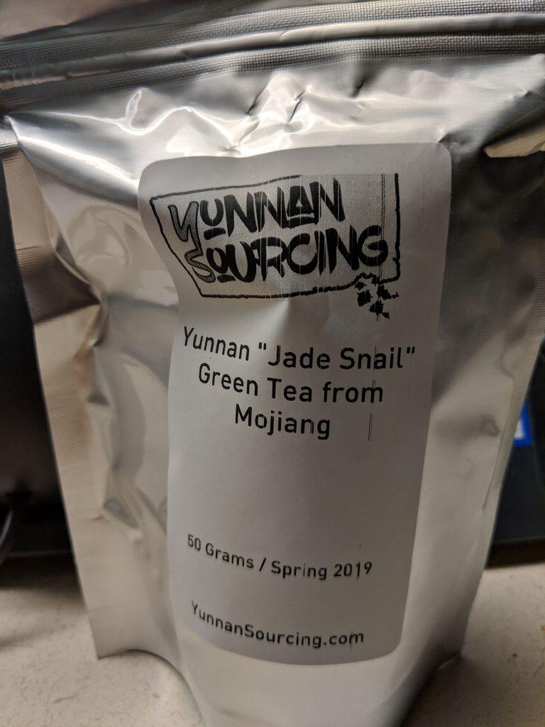 Jade Snail of Mojiang